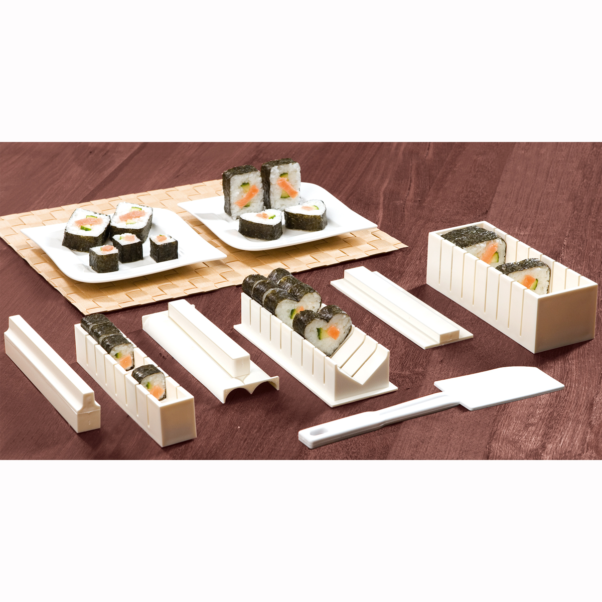 le plaisir des kit sushis sushi japonais livraison. Black Bedroom Furniture Sets. Home Design Ideas
